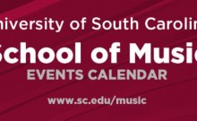 USC school of music calendar