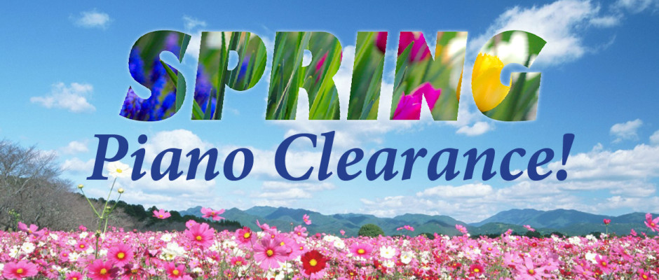 Spring Piano Clearance