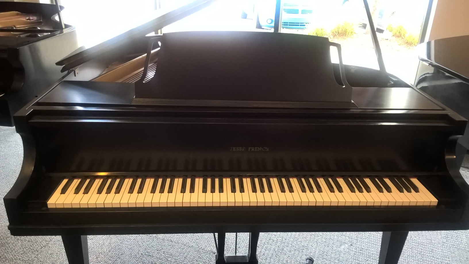 Used Jesse French Baby Grand Piano Sold Rice Music House