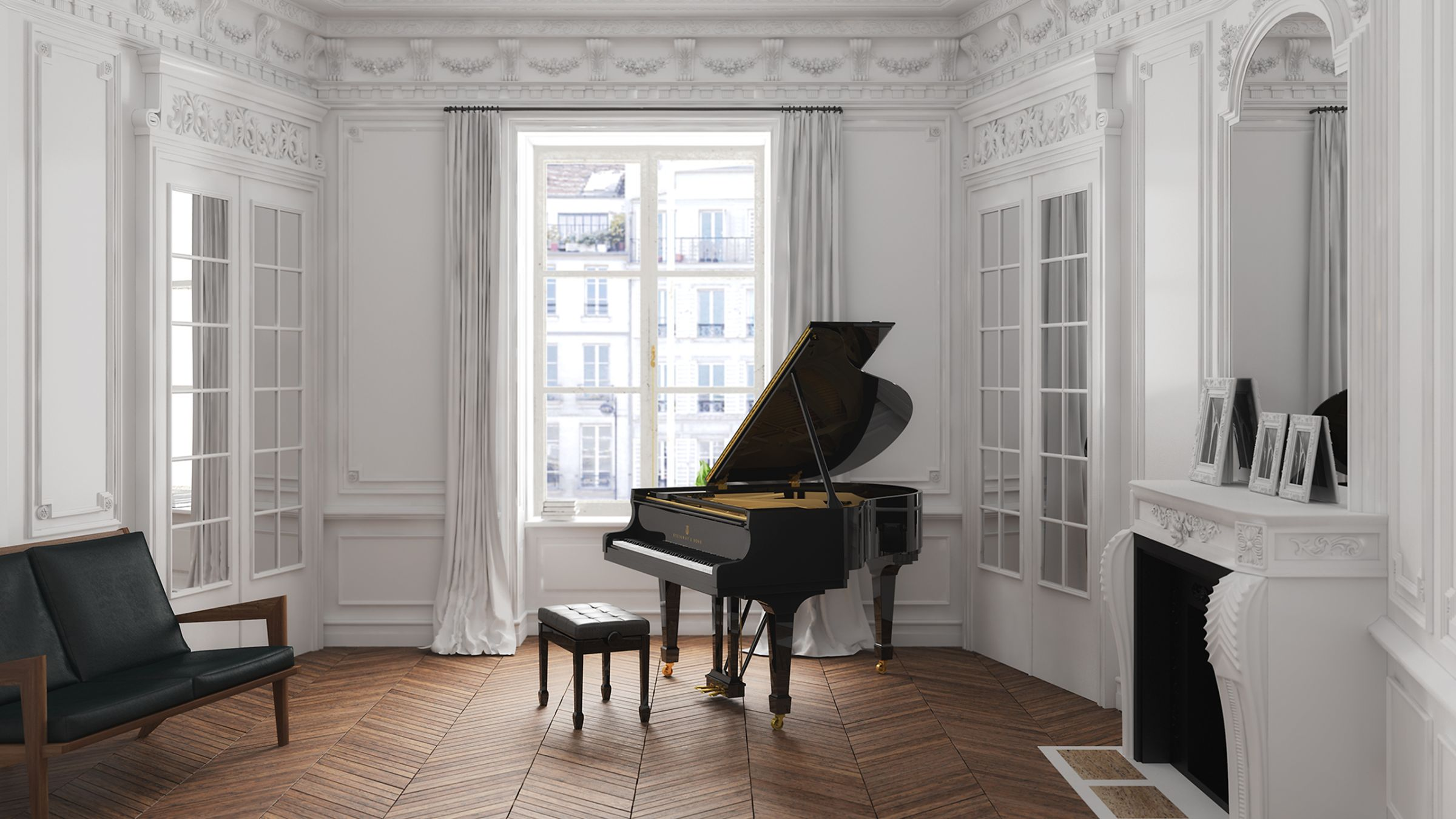 Steinway sons grand and upright pianos rice music house for Best piano house