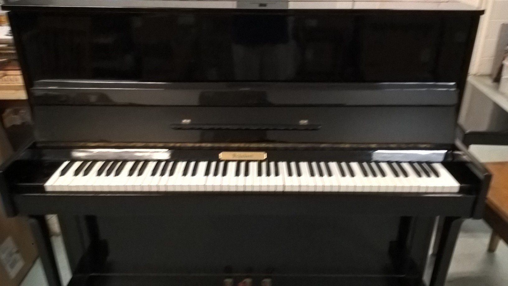 Schubert used upright piano