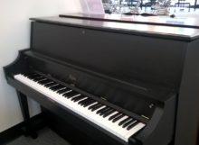 Used piano Designed By Steinway, the Boston studio piano in Classic Black.