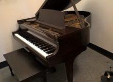 Used Original Steinway Baby grand piano in Mahogany