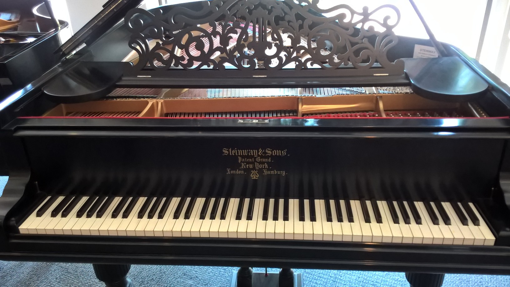 Steinway Restored Model A Grand Piano 1883 Rice Music