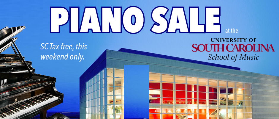 USC Piano Sale