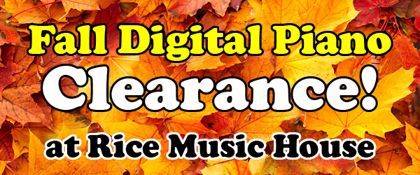 Digital Piano Clearance