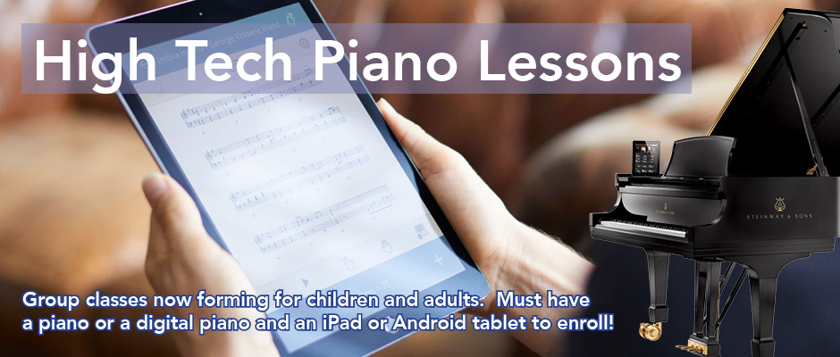 High Tech Piano Lessons