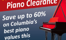 Presidents Day Piano Clearance 2020