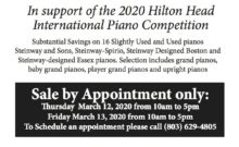 Hilton Head PIano Sale