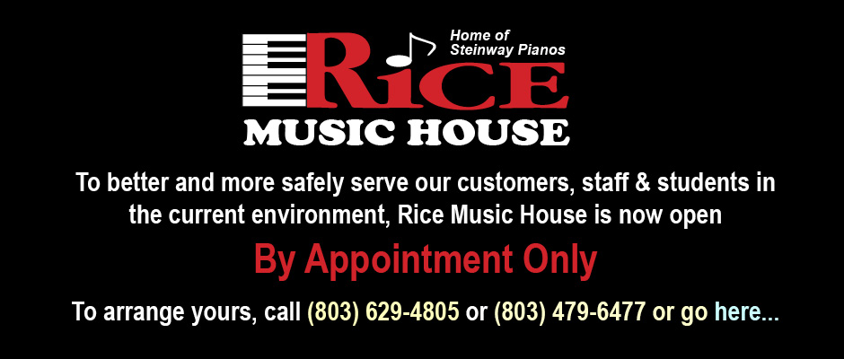 Rice Appointment Banner