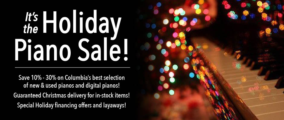 Holiday Piano Sale